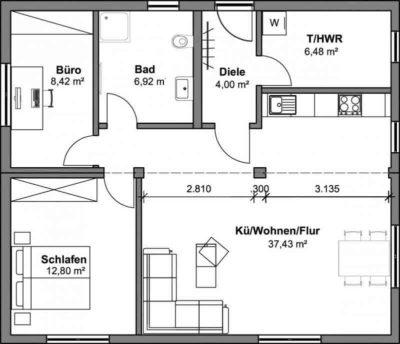 SmartHouse Modul-Kombination 76m²