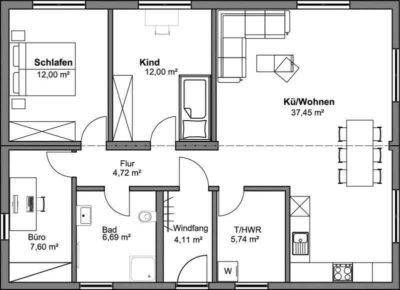 SmartHouse Modul-Kombination 90qm