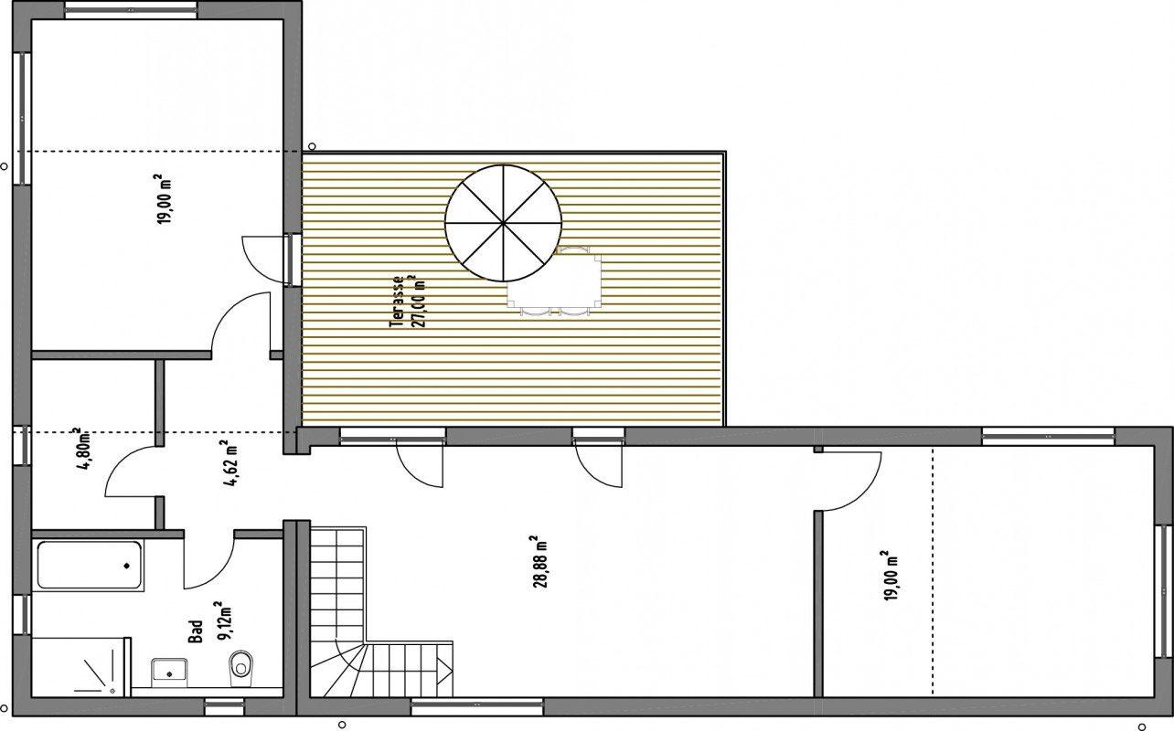 SmartHouse 173qm, zweigeschossig mit Dachterrasse