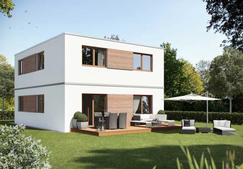 SmartHouse Einfamilienhaus Fertighaus
